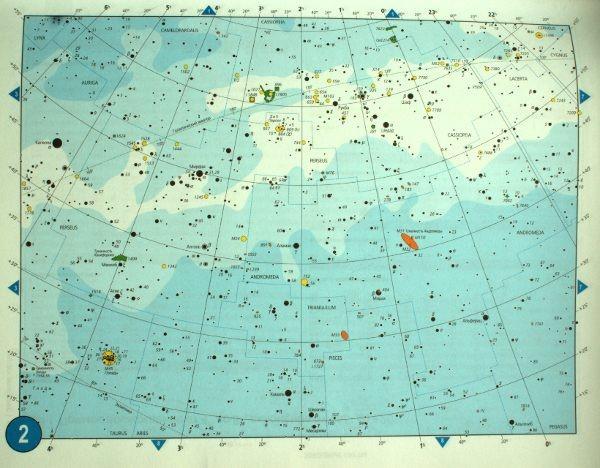 Карта звездного неба онлайн