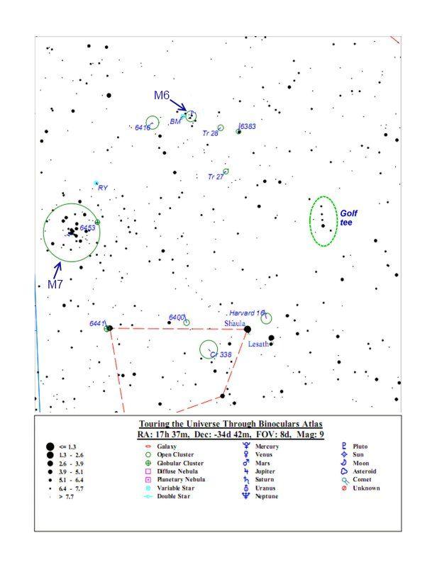 Поисковая карта М6 и М7