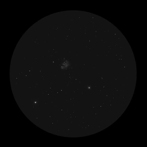 Зарисовка M35 в бинокль
