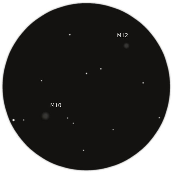 Зарисовка M10 и M12 в бинокль