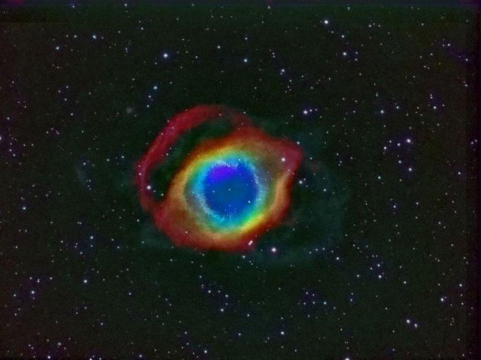 Helix Nebula. Туманность Улитка