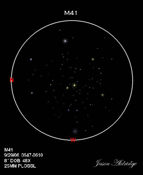 Зарисовка M41