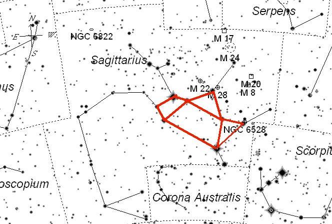 Sagittarius-teapot