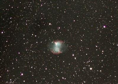 M 27 Гантель. Фотография Марко Чокка