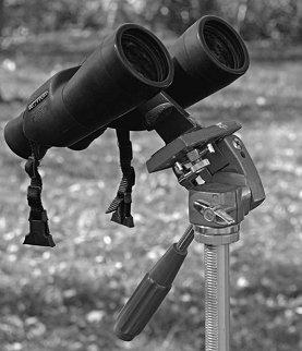 Бинокль на фотоштативе