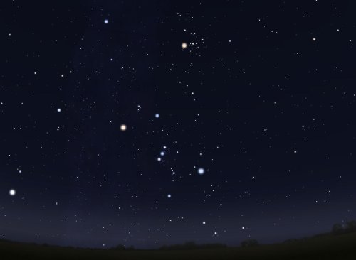 Класс неба 2: Типичное истинно-темное небо