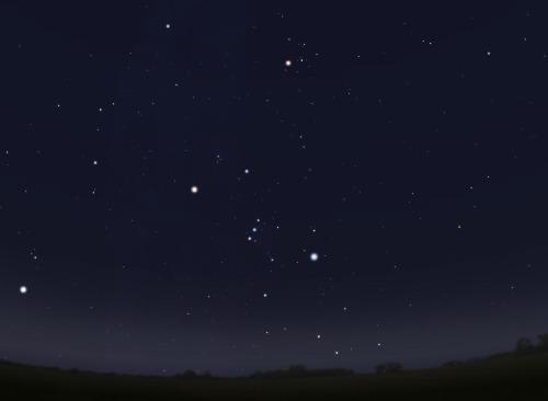 Класс неба 4: Деревенско-пригородное небо
