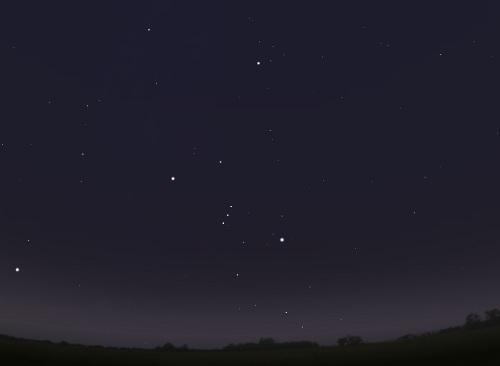 Класс неба 6: Яркое пригородное небо