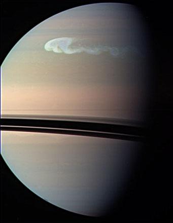 Шторм на Сатурне